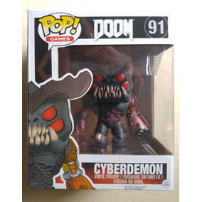 #91 Doom Cyberdemon Oversized Funko Pop