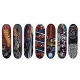 Patineta Skateboard Skate Infantil Hot Wheels Spiderman Cars