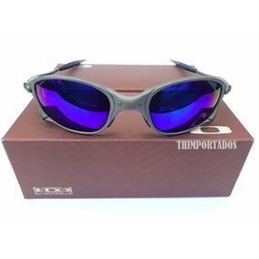 Juliet Lente Clear Azul Rubi De Sol Oakley - Óculos no Mercado Livre ... 0ec84b633b