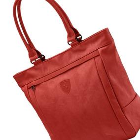 Bolsas Femininas Vermelha Ferrari Shopper Puma Promoção