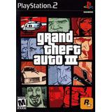 Grand Theft Auto Iii 3 Ps2 Nuevo Fisico Envio Inc Od.st