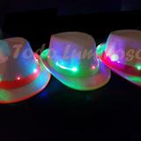 a4a451fcfd93f Sombrero Panameño Fluo Luminoso Cotillón Luminoso