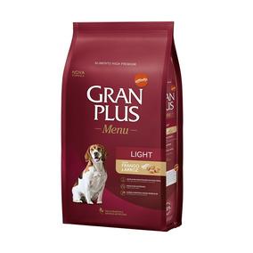 Ração Gran Plus Menu Cães Light 15kg