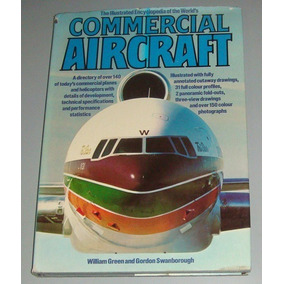 Avião Livro Illustrated Encyclopedia Of Commercial Aircraft