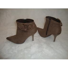 Sapato Salto Flor 10cm De Altura Tamanho 37 Semi-novo