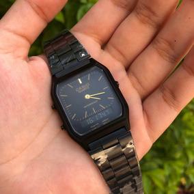927b7d90f5e Casio Vintage Dourado Com Preto - Relógios De Pulso no Mercado Livre ...