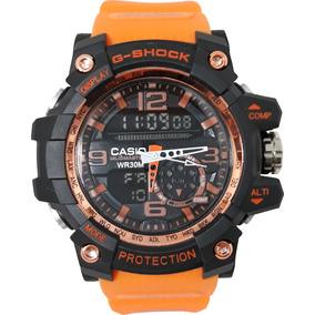 5f20652d0ac Relogio Esportivo Digital Led Caixa Preta Relógio Masculino