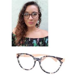 2efb7ffb3 Oculos De Grau Fendi Gatinho - Óculos Rosa claro no Mercado Livre Brasil