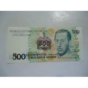 Cédula De 500 Cruzeiros De 1990 C213b Serie 3111 Rara Fe