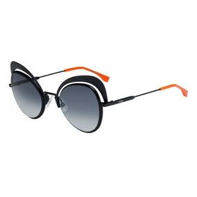 Oculos Gatinho Preto Degrade Fendi - Óculos no Mercado Livre Brasil 8021a948ab