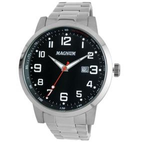 d8508e4f3ca Relógio - Magnum Steel Quartz - Relógios no Mercado Livre Brasil