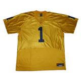 Camiseta De Futbol Americano Azul Y Amarilla - Deportes y Fitness en ... 5a99b23952187