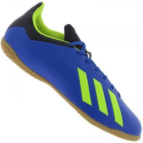 Chuteira X Tango Adidas Futsal - Chuteiras Azul no Mercado Livre Brasil 66826e5acbc7e