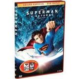 Dvd Superman O Retorno Duplo+livro Os Últimos Dias D Krypton