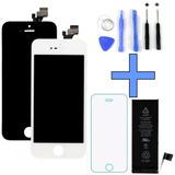 Display Iphone 5 5c 5s + Bateria + Película + Ferramentas