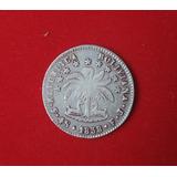 4 Soles Bolivia 1858 Moneda Antigua De Plata Potosi