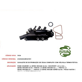Cavalete C Valv. Fiesta Ka 1.0 1.6 Zetec Rocam 02 ... Ecospo