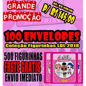 Mega Promocao Coleção Figurinhas Lol - 100 Envelopes