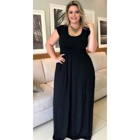 Vestido Longo Moda Evangelica Roupa Feminina Super Barato