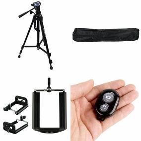 Kit Tripe/camera Smartphone Celular Todos 1,35m Youtuber