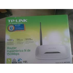 Router Inalambrico Tp-link Wifi (nuevo)