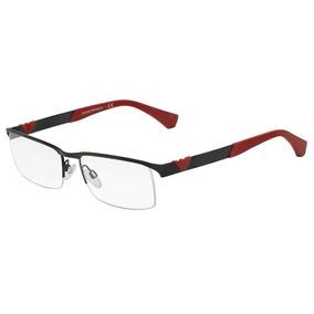 bc0d4b79cf3aa Armação Oculos De Grau Emporio Armani Preto Ref 08 Armacoes - Óculos ...
