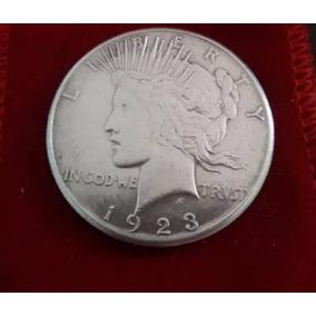 Moeda 1 Dolar Silver Usa 1923