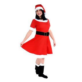 Fantasia Mamãe Noel Adulto