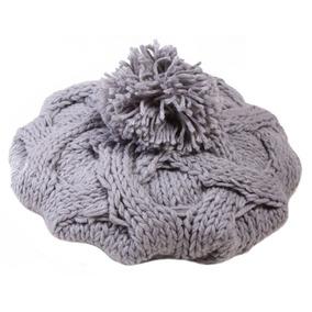 Mujer Invierno Knit Beanie Gorro Lana... (light Grey) por eBay 5d46372ad56