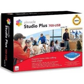 Pinnacle Studio Plus 700 Usb Capturadora De Video
