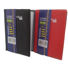 Porta Cartão, Card Book 16 Card Holder Super Compacta
