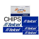 Chip Telcel Express Lada De Monterrey (81 ) + Envio Gratis