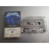 Metallica Ride Cassette Mexico No Es Aerosmith Guns U2 Cure