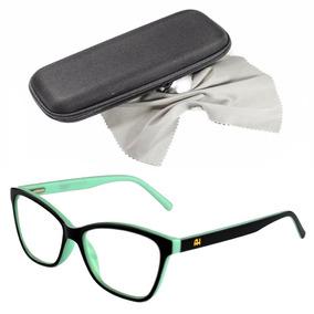Óculos De Grau Feminino - Óculos Azul claro no Mercado Livre Brasil 19f8cad593