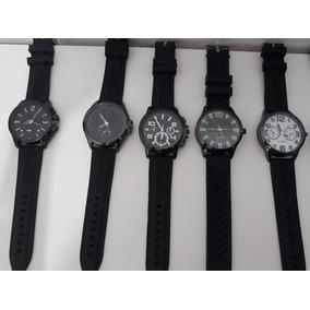 03 Relógios Masculino + Caixa