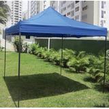 Carpa Toldo 3x3 Reforzado Plegable Impermeable Jardin