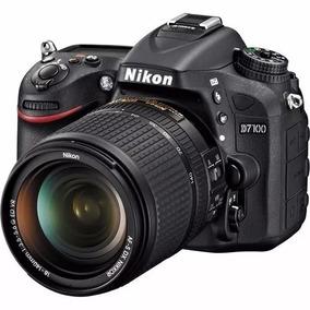 Câmera Nikon D7100 Com Lente Nikon 18-105mm F/3.5-5.6 Dx