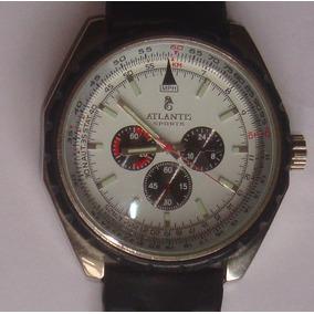 Relógio Grande Atlantis Prova D´água 50m Usado