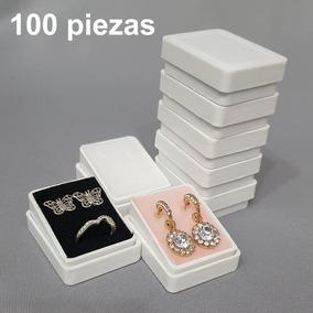 100 Cajas Plástica Para Aretes 802