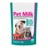 Leite P/ Gatos Cães Filhotes Substituto Pet Milk 100g