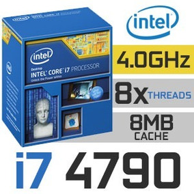 Procesador Intel Core I7-4790 / 3.60ghz - 4ghz / Socket 1150