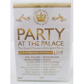 Dvd Party At The Palace The Queen´s Concerts Edicao Especial