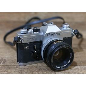 Camera Canon Ftb Analogica Antiga C/lente 35mm