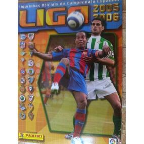 Álbum Liga Espanha 2005 E 2006 Completo Estado De Banca