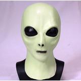 Mascara Latex Alien Ufo Ovni Marciano Et Extraterrestre Mac