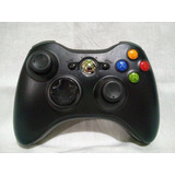 Control Xbox 360 Inalambrico Microsoft 100% Original Negro B