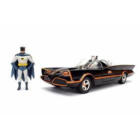 Jada Toys Batmobile 1966 1/24 Com Batman #92859