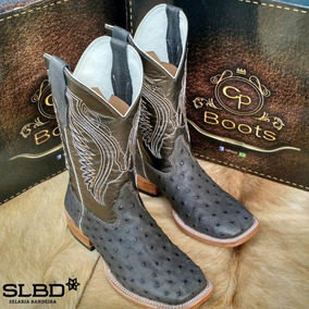 Bota Texana De Avestruz Cp Boo Masculino Botas - Sapatos no Mercado ... 85fa8308f87