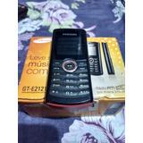 Celular Samsung E2121 Preto - Para Retirada De Peças