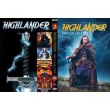 Dvd Highlander Quadrilogia - Os 4 Filmes Em Dvd